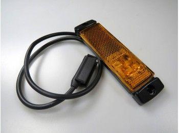LED markeringslicht oranje 12/24V | Pak Onderdelen