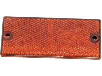 Reflector rechthoek Oranje | Pak Onderdelen